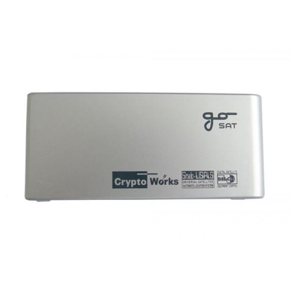 Dvierka GoSat GS-2020 (strieborné)