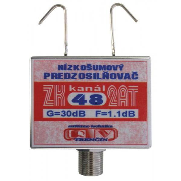 Antenný zosilňovač ZK48 2AT 30dB F DOPREDAJ