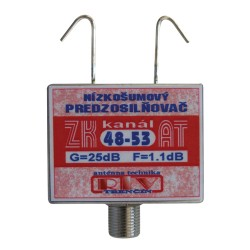Antenný zosilňovač ZK48-53AT F DOPREDAJ