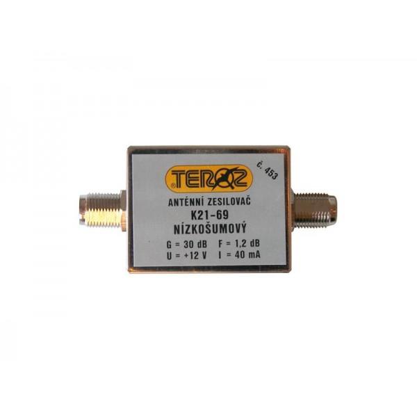 Antenný zosilňovač UHF 30dB F-F Teroz