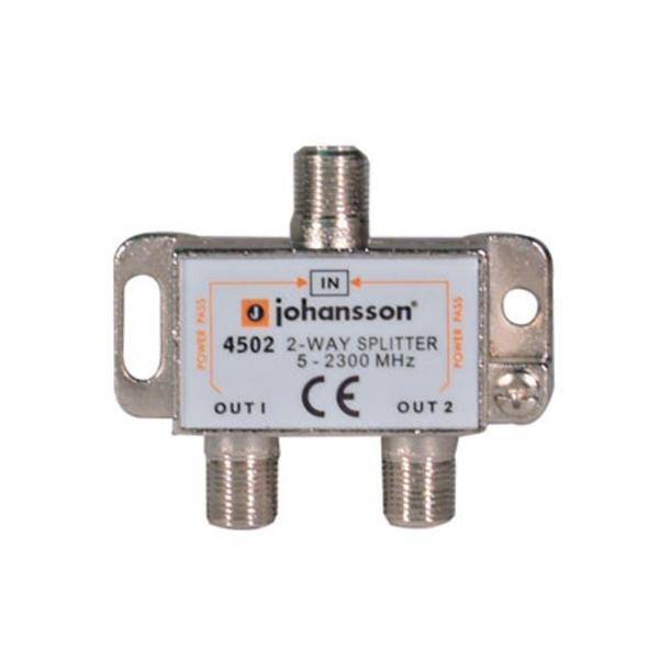 Antenný rozbočovač 2-výstupy 4502 - Johansson