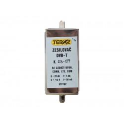 Anténny zosilňovač s filtrom LTE+GSM+UFON+CDMA F-F Teroz 428X
