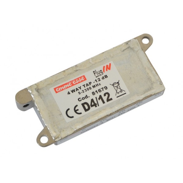 Antenný odbočovač štvoritý Emme Esse 81679 -12.0dB