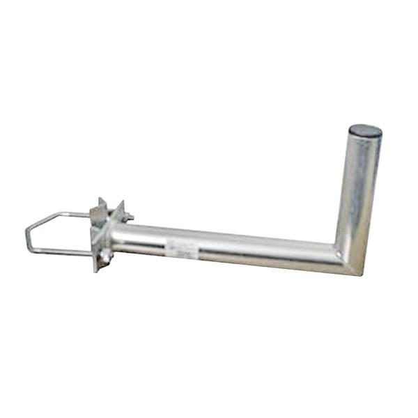 Antenní držiak konzola 35cm na stožiar s vinklom rozteč strmeň 150mm priemer 42mm