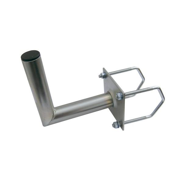 Držiak antén na balkon 35 na hranaté zábradlie priemer držiaku 42mm