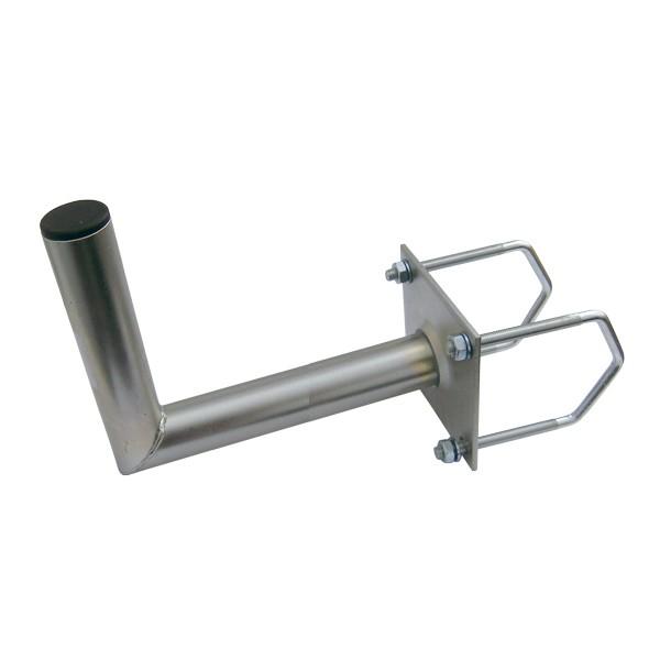 Držiak antén na balkon 50 na hranaté zábradlie priemer držiaku 42mm